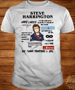 Steve harrington but Tammy Thompsons a girl shirt