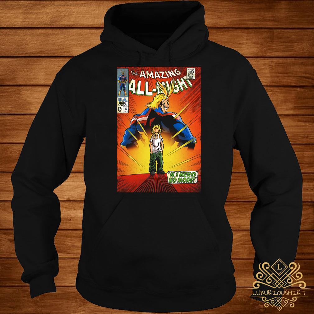The amazing all night Boku No Hero Academia hoodie
