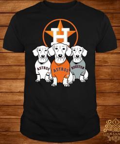 Dachshund Houston Astros shirt
