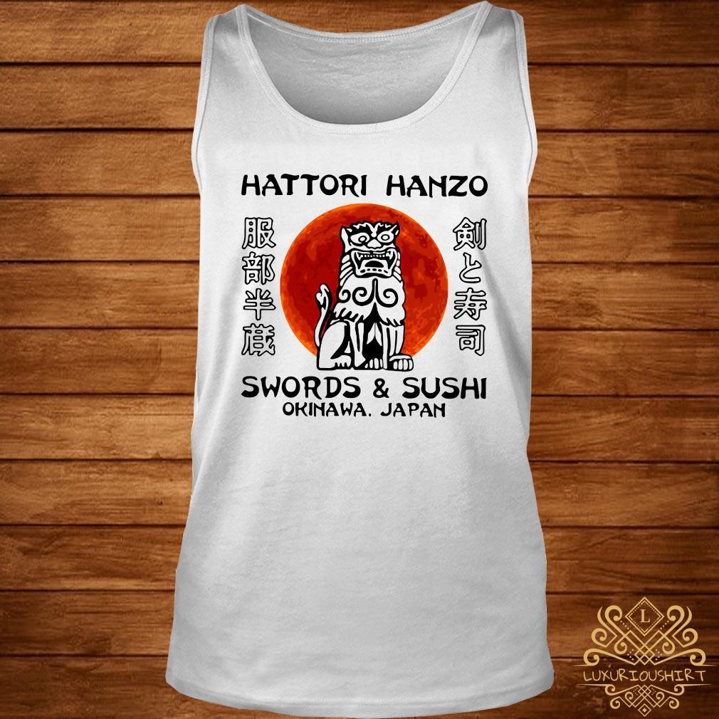 Hattori Hanzo Swords and Sushi Okinawa Japan tank-top