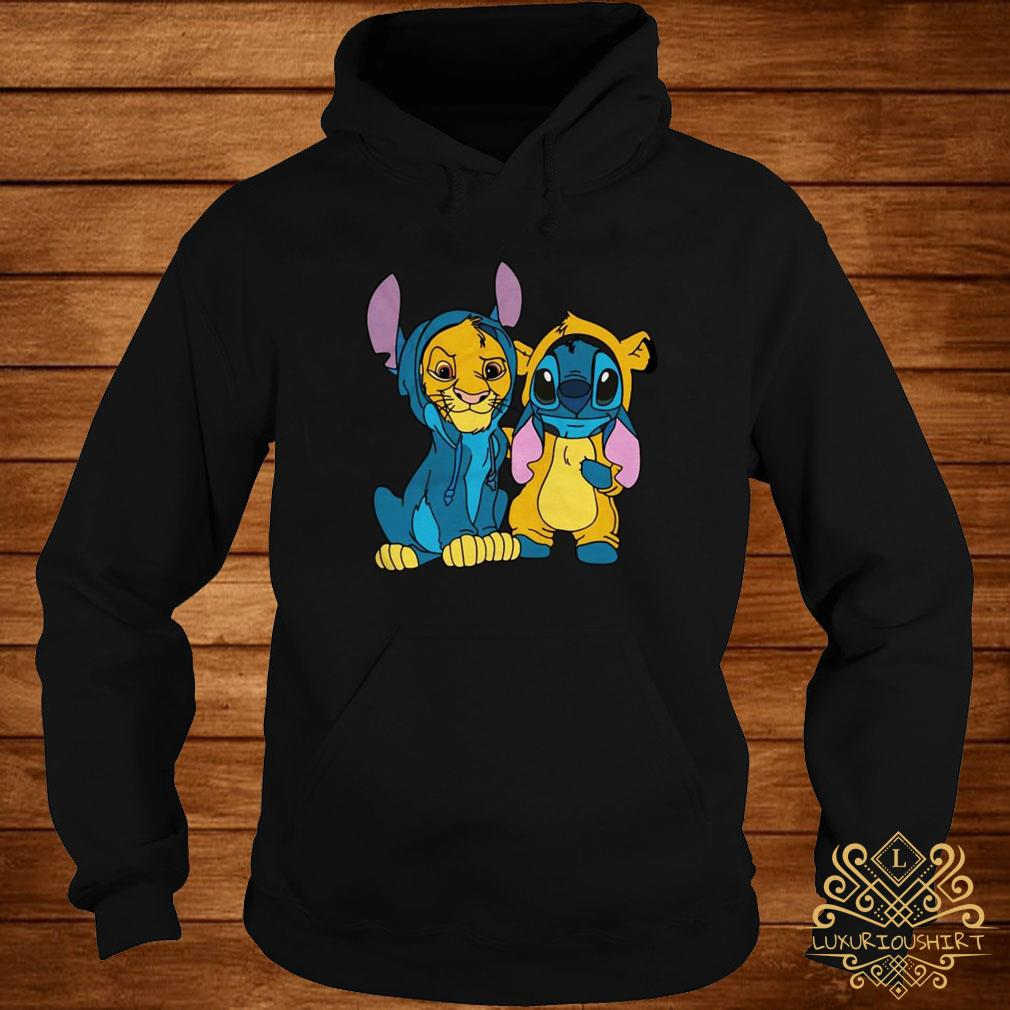 The Lion King Simba and Stitch Is Best Friend hoodie