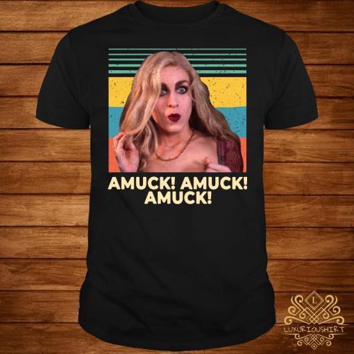 Sarah Sanderson Amuck Amuck Amuck Vintage shirt