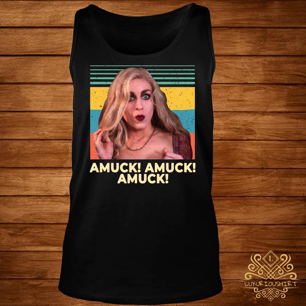 Sarah Sanderson Amuck Amuck Amuck Vintage tank-top