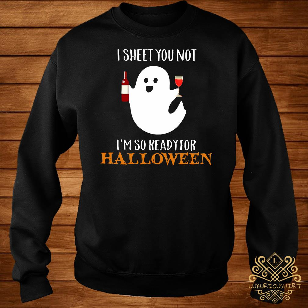 I sheet you not I'm so ready for Halloween sweater