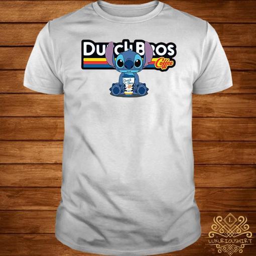Stitch Dutch Bros coffee shirt