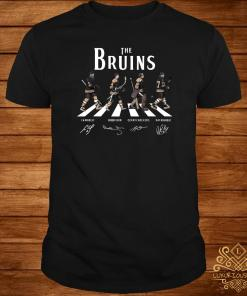 The Bruins Abbey Road signature shirt