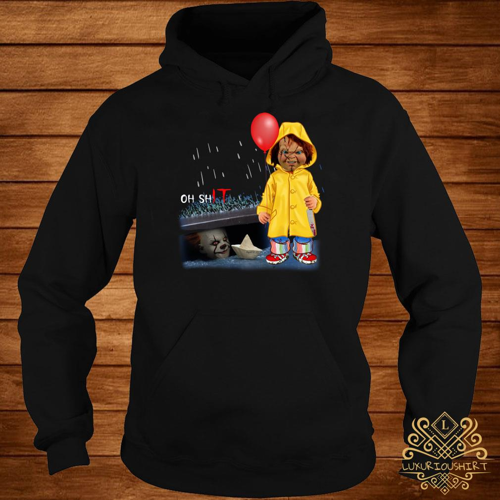 Chucky Georgie Denbrough oh shit IT hoodie