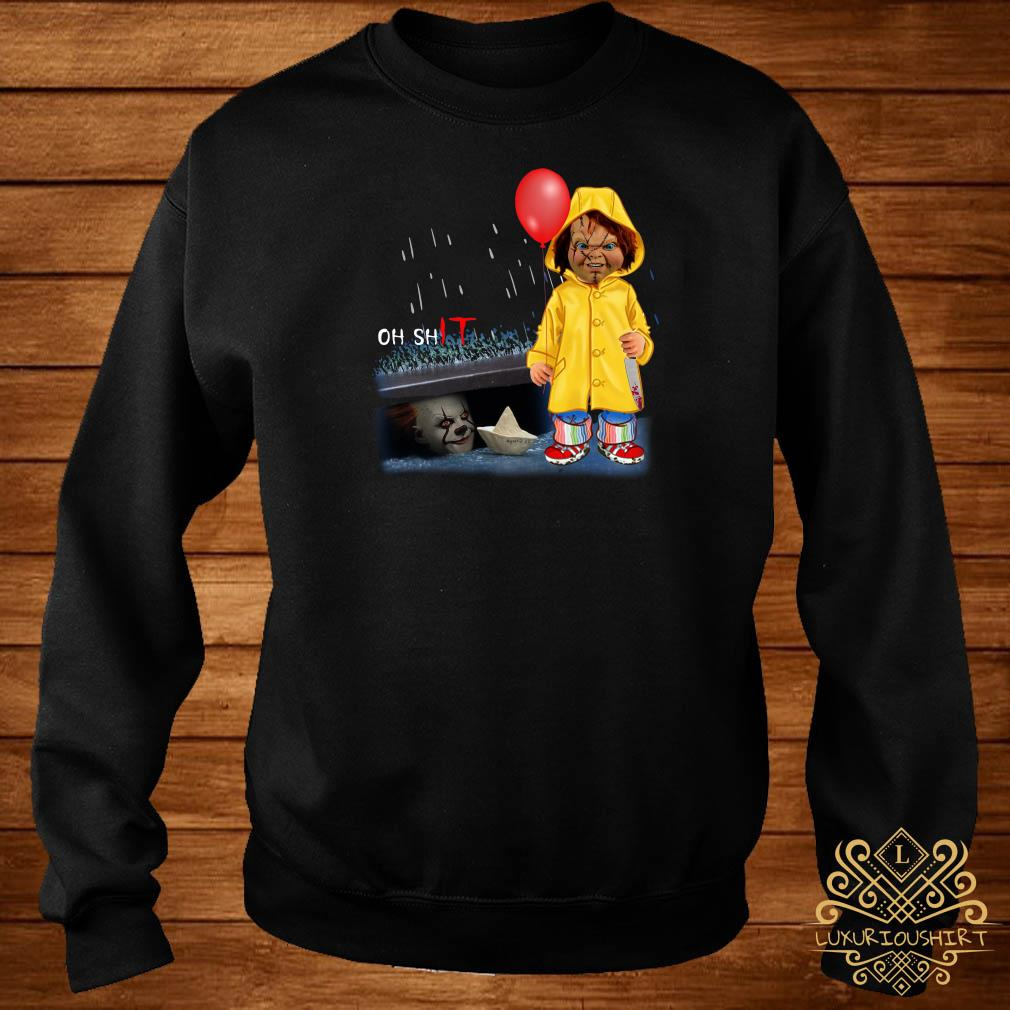 Chucky Georgie Denbrough oh shit IT sweater