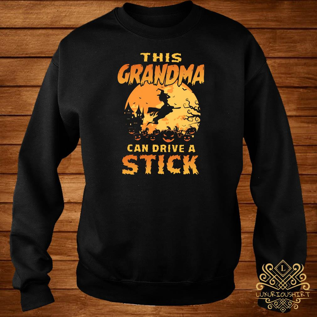 This grandma can drive a stick sweater