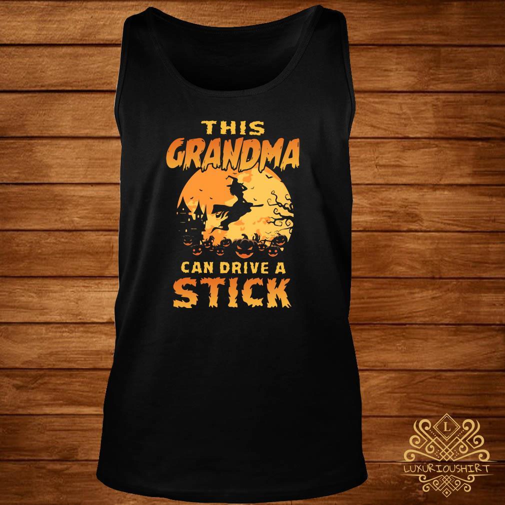 This grandma can drive a stick tank-top