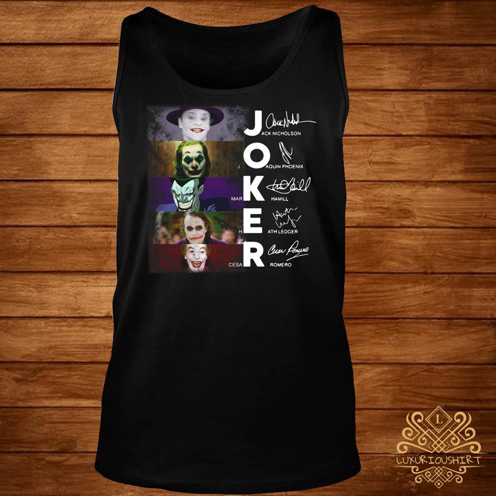 Joker All Version signature tank-top