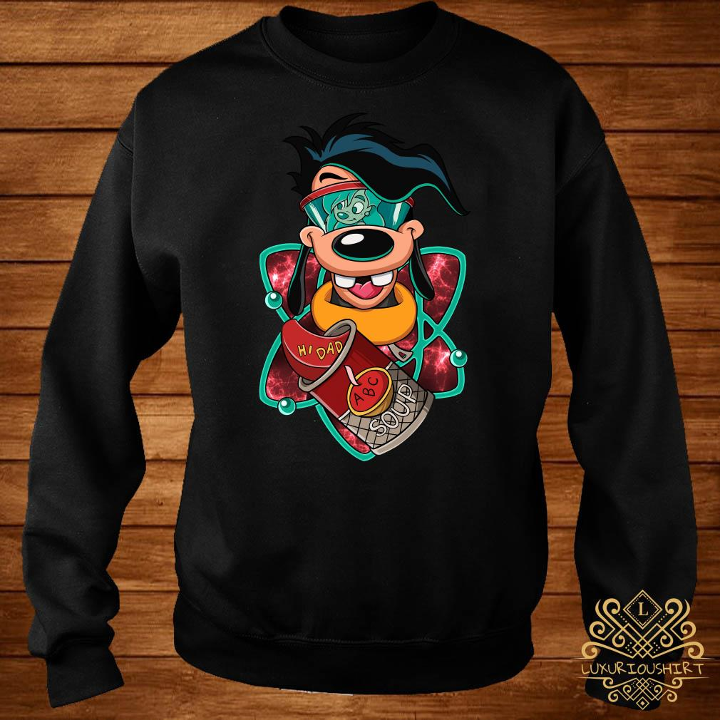 Max Goof Hi dad ABC soup sweater