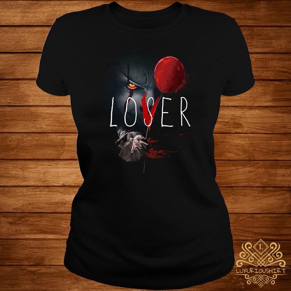 IT Pennywise lover loser ladies tee