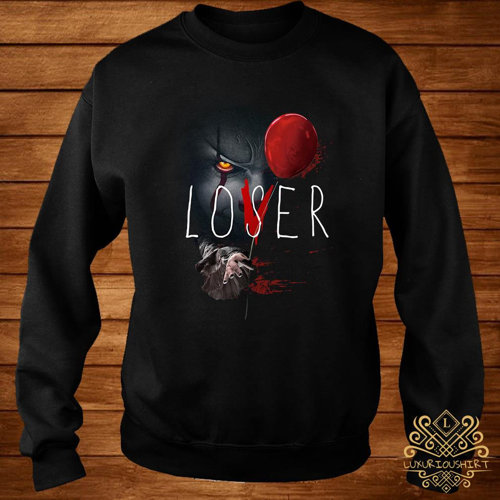 IT Pennywise lover loser sweater