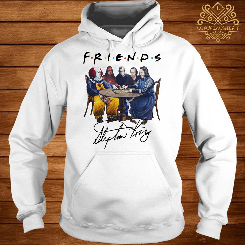 Stephen King horror characters Friends signature hoodie