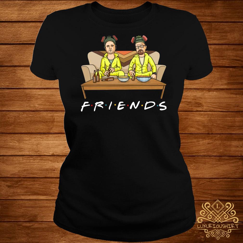 Breaking Bad Walter And Jesse TV Show Friends ladies tee