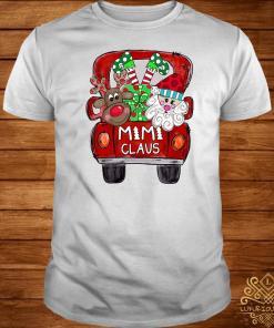 Car Christmas Mimi Claus Shirt