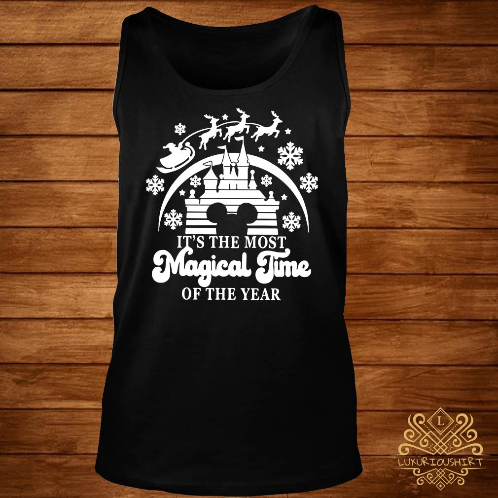 Disney Mickey Head It's The Most Magical Time Of The Year Tank-top