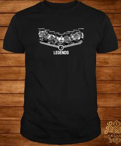 Flyers Flags Legends Team Player Signature Shirt