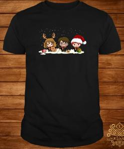 Harry Potter Hermione Granger And Ron Weasley Christmas Shirt