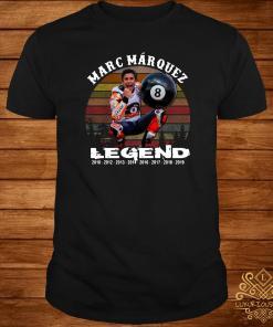 Marc Marquez Legend Sunset Shirt