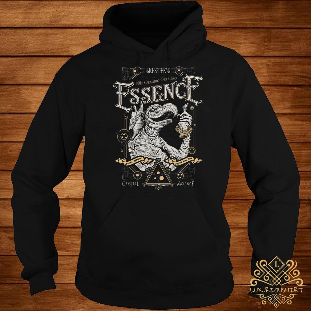 Skektek's 100% organic gelfling essence hoodie