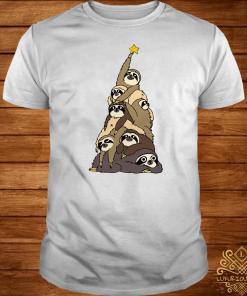 Sloth Christmas Tree Shirt