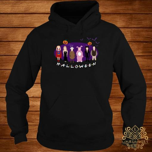 The One with the Halloween Party friends TV show hoodie