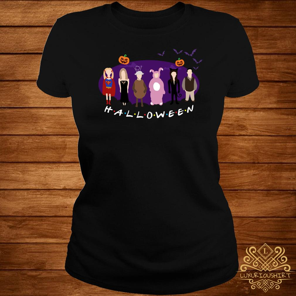 The One with the Halloween Party friends TV show ladies tee