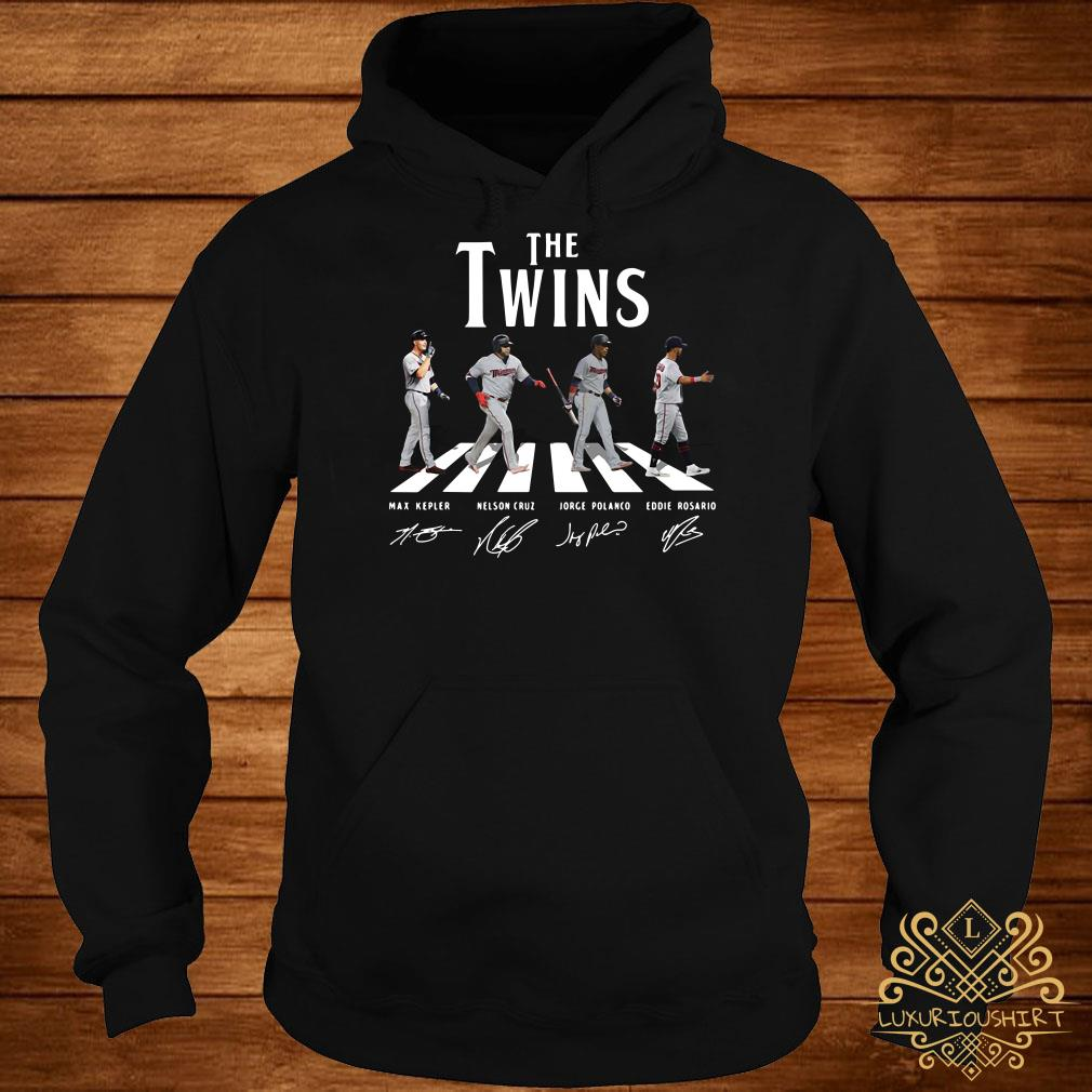The Twins abbey road signature hoodie