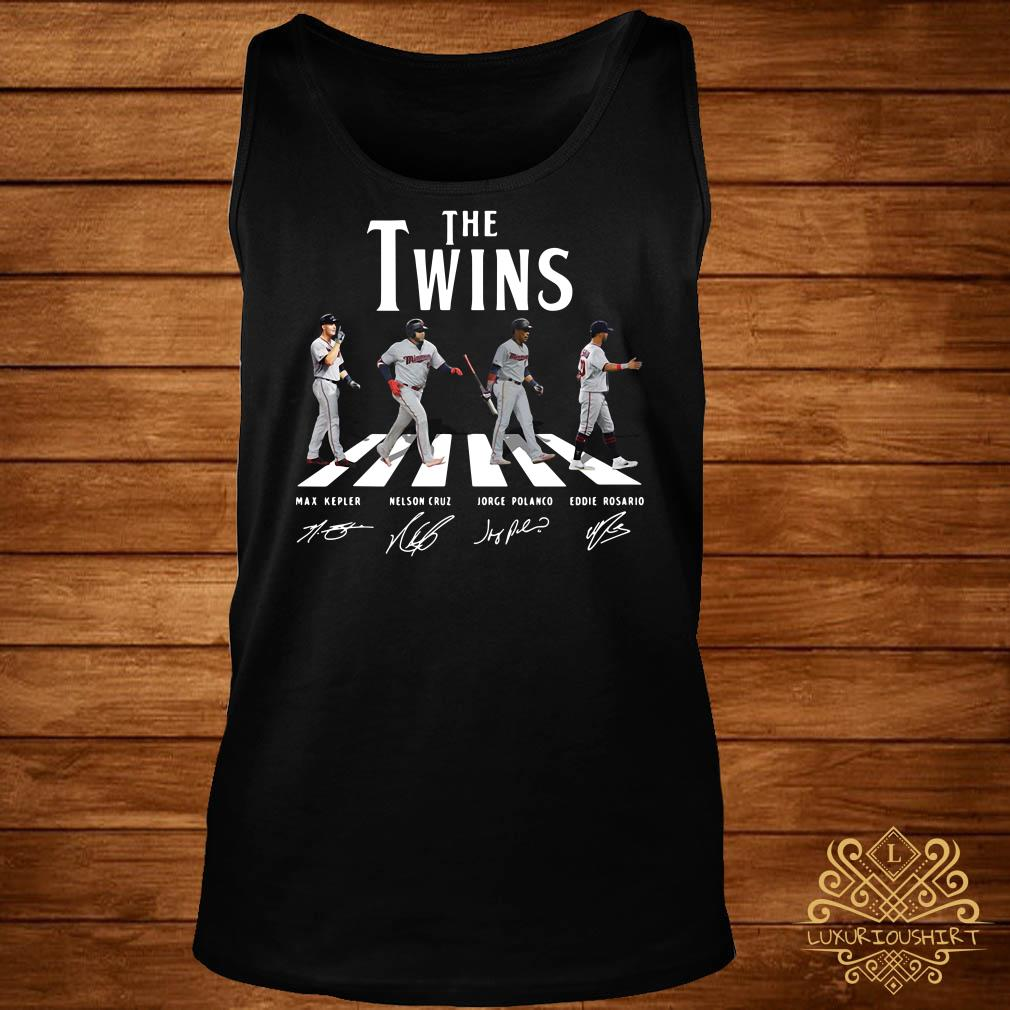 The Twins abbey road signature tank-top