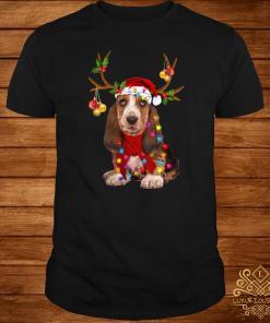Basset Hound Gorgeous Reindeer Shirt