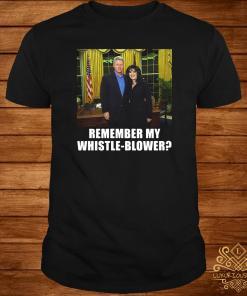 Bill Clinton Monica Lewinsky Remember My Whistle Blower Shirt