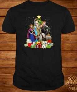Disney Frozen Characters Christmas Tree Shirt