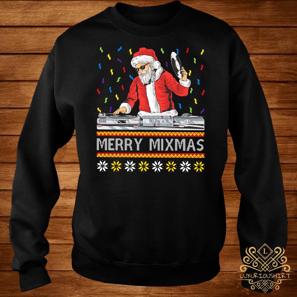 DJ Santa Claus Merry Mixmas Sweater
