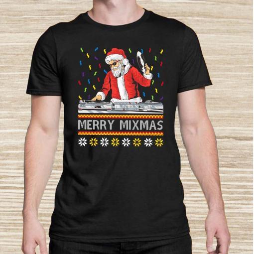 DJ Santa Claus Merry Mixmas Unisex