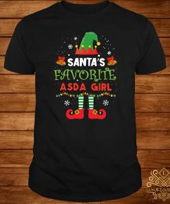 Elf Santa's Favorite ASDA Girl Shirt