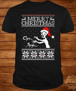 Grr Argh Vampire Monster Merry Christmas Ugly Sweater