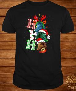 Ho Ho Ho Horse Christmas Shirt