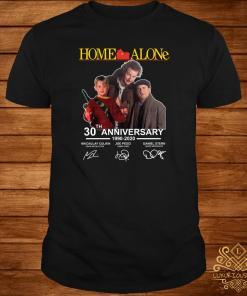 Home Alone 30th Anniversary 1990-2020 Signature Shirt
