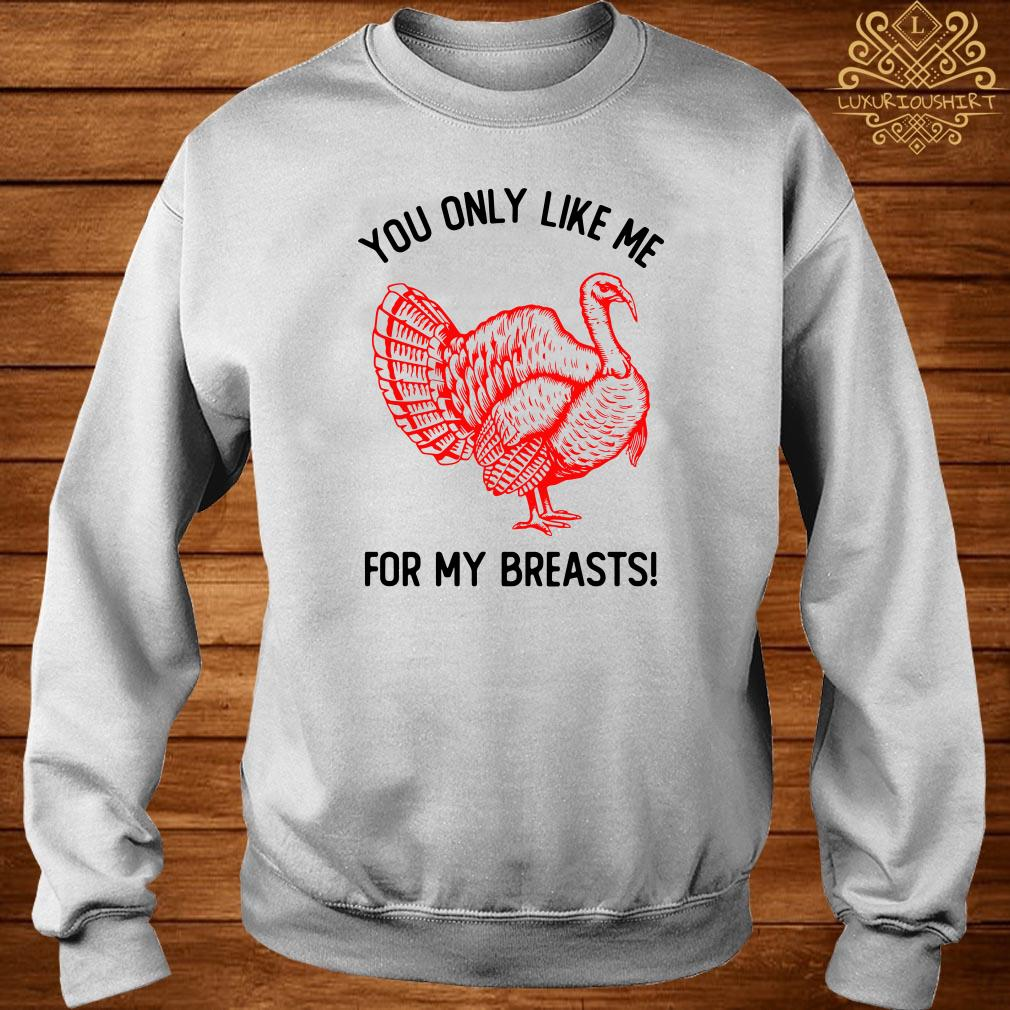 You Only Like Me For My Breasts Thanksgiving Sweater