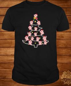 Pigs Santa Christmas Tree Shirt