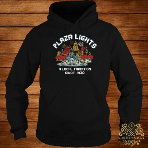 Plaza Lights A Local Tradition Since 1930 Hoodie