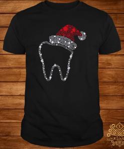 Santa Tooth Diamond Christmas Shirt