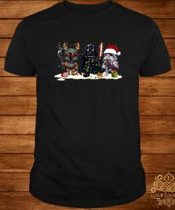 Star Wars Chibi Characters Christmas Shirt