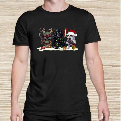 Star Wars Chibi Characters Christmas Unisex