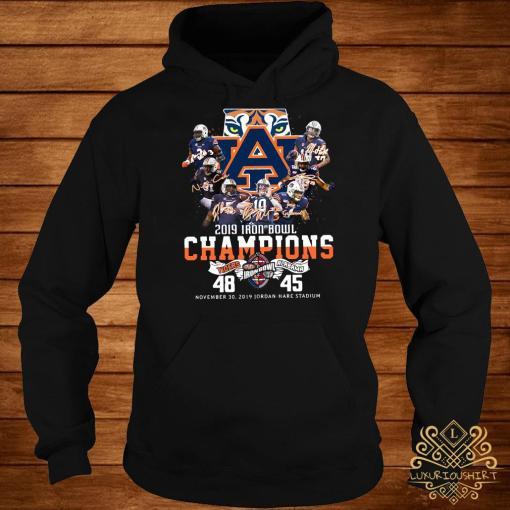 2019 Iron Bowl Champions 2019 Auburn Tigers Alabama Hoodie