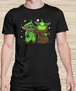 Baby Yoda And Baby Grinch Christmas Unisex