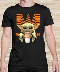Baby Yoda Hug Whataburger Unisex