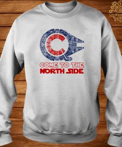 Come To The North Side Star Wars Millennium Falcon Chicago CUBS Sweater